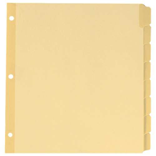 Esselte Write-on Tab Divider (ESS10088) - Letter