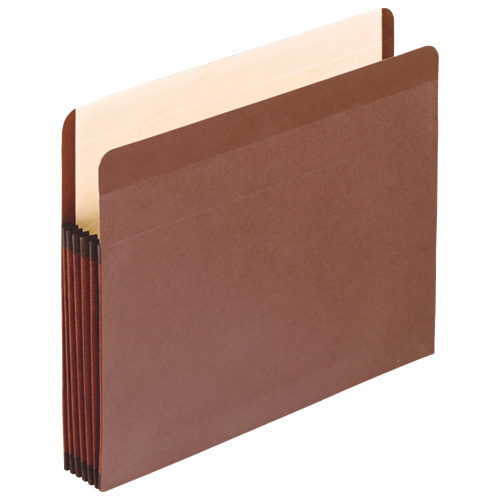 """Esselte 3.5"""" Recycled Vertical File Pockets (ESS085363) - Legal"""