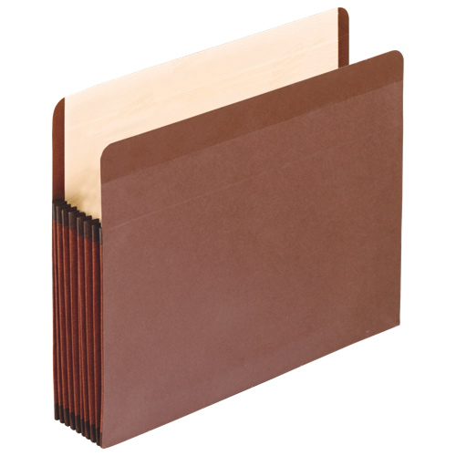 """Esselte 5.25"""" Recycled Vertical File Pockets (ESS085565) - Legal"""