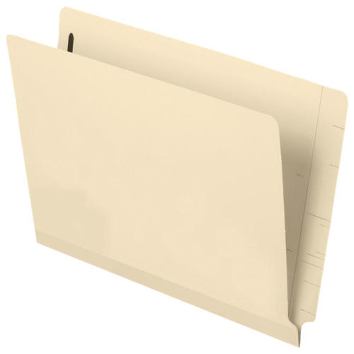 Esselte Pendaflex Laminated Spine Manila End Tab Fastener Folders (ESS13140) - 50 Pack - Letter