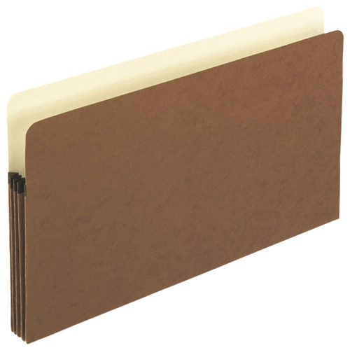 "Esselte Pendaflex Coloured 3.5"" Expanding File Pocket (ESS1526EOX) - Legal - Brown"