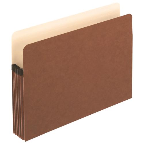 "Esselte Pendaflex Coloured 5.25"" Expanding File Pocket (ESS1534GOX) - Letter - Brown"