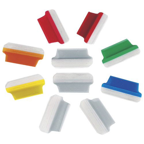 Esselte Self Adhesive Shield Tabs (ESS15A) - 10 Pack - Assorted Colours