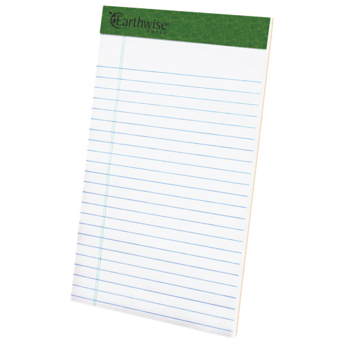 Esselte Ampad Earthwise Recycled Perforated Notepads (ESS20-152) - 12 Pack - Jr. Legal