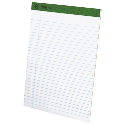 Esselte Ampad Earthwise Recycled Perforated Notepads (ESS20-172) - 12 Pack - Legal