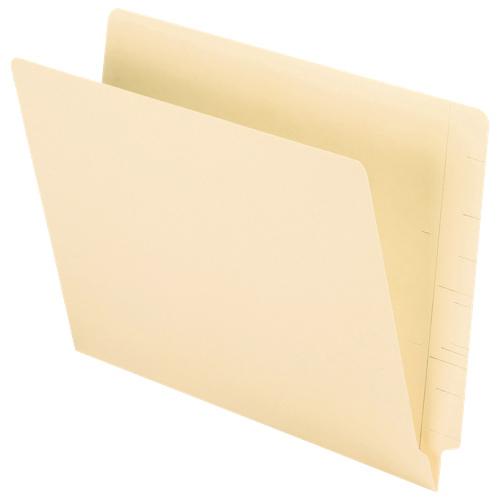 Oxford Straight Cut End Tab File Folder (ESSH110D) - Letter - 100 Pack - Manila