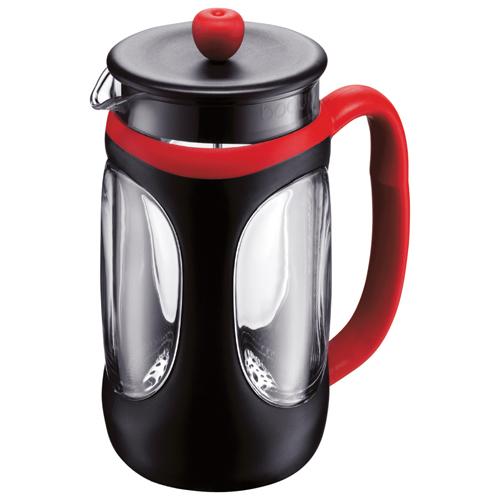 Lexan French Press Coffee Maker : Bodum Young French Press Coffee Maker (10096-364US4) - Black/Red : French Presses & Percolators ...
