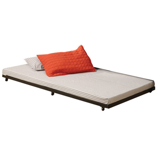 winmoor home contemporary trundle bed frame twin black beds bed frames best buy canada. Black Bedroom Furniture Sets. Home Design Ideas