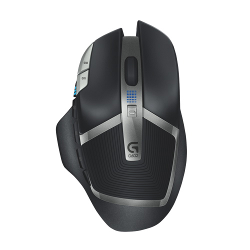 Logitech G602 Wireless Optical Mouse (910-003820) - Black