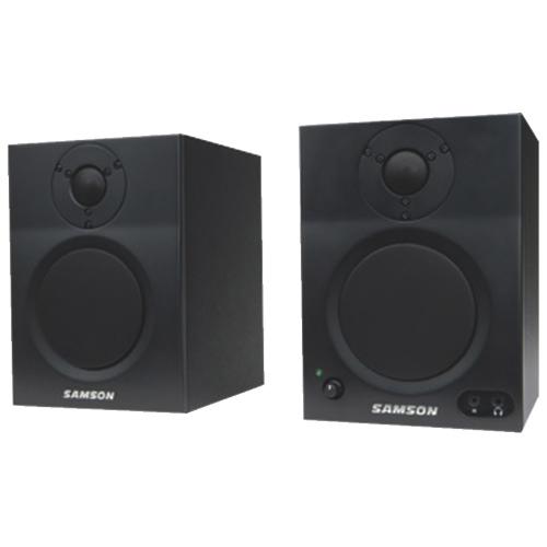 "Samson MediaOne 2-Way 4"" Active Bluetooth Monitor Speakers (SAMBT4)"
