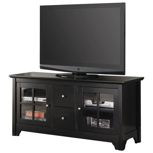 "Walker Edison 55"" TV Stand - Black (BC52C2DWBL)"