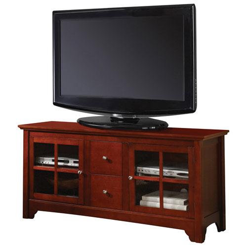 "Walker Edison 55"" TV Stand - Brown (BC52C2DWWB)"