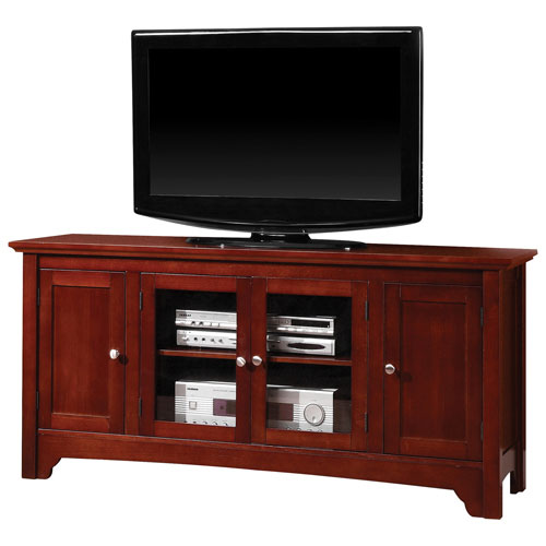 "Walker Edison 55"" TV Stand - Brown (BC52C4DOWB)"