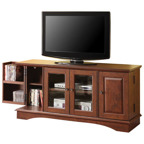 "Walker Edison 55"" TV Stand - Brown (BCQ52C4DRTB)"