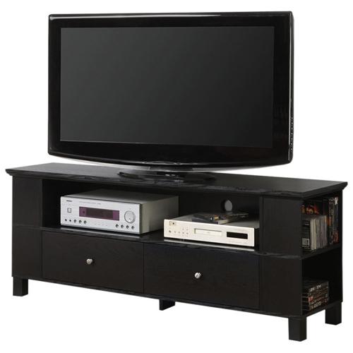 "Walker Edison 65"" TV Stand - Black (BC60CMPBL)"
