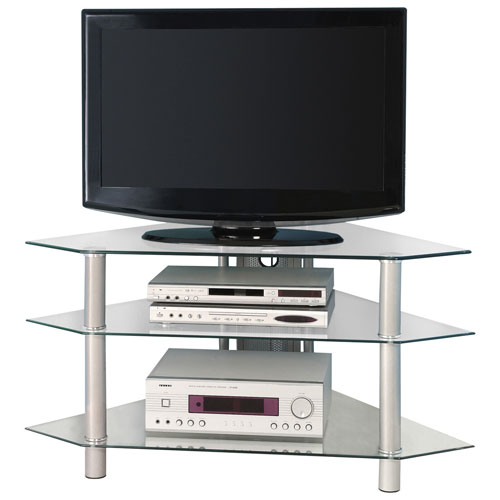 "Walker Edison 48"" TV Stand - Silver"