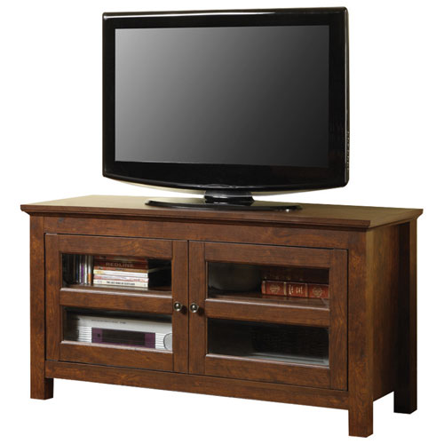 "Walker Edison 52"" TV Stand - Brown (BCQ44CFDTB)"
