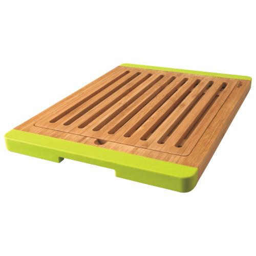 BergHOFF Studio Open Groove Bamboo Bread Board - Green