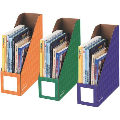 Paquet de 18 porte-magazines de 4 po de Bankers - Assorti