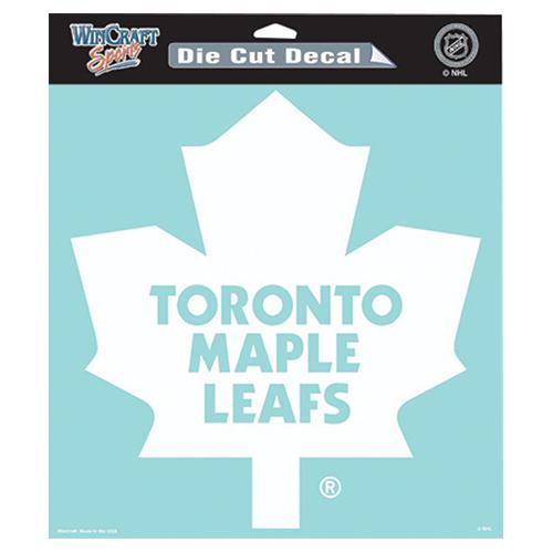 Wincraft Nhl Toronto Maple Leafs Die Cut Decal Wchdedc8x8tml Best Buy Canada