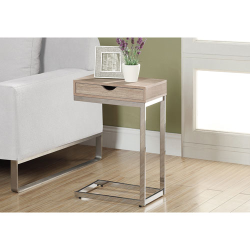 Storage Coffee Table Canada: Rectangular Accent Table With Storage Drawer