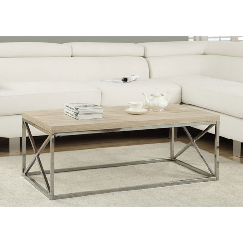 Pottery Barn Coffee Table Canada: Reclaimed Wood-Look Rectangular Cocktail Table