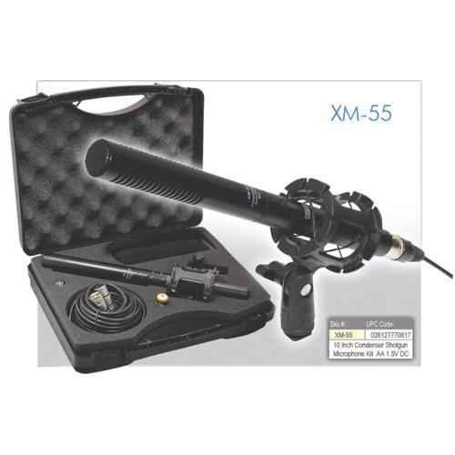 Vidpro Condenser Shotgun Microphone (XM55)