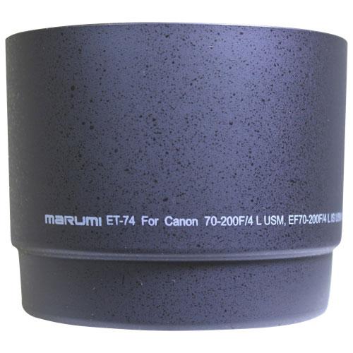 Pare-soleil Marumi pour l'objectif EF 70-200 / 4 L USM de Canon (ET-74)