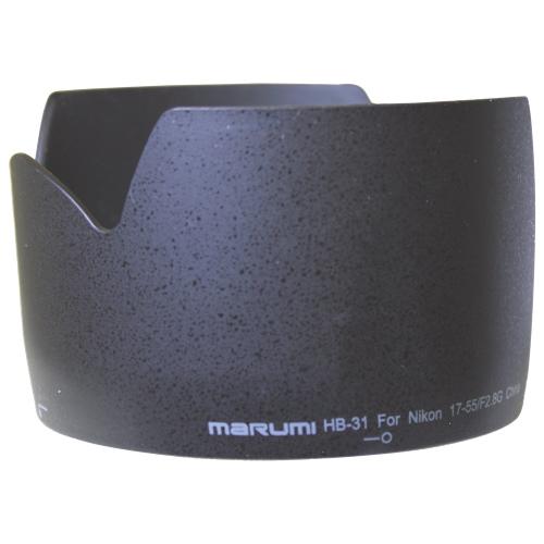 Parasoleil de Marumi pour objectif AF-S DX 17-55/2,8G de Nikon (HB-31)
