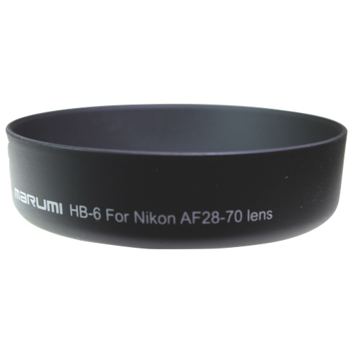 Parasoleil de Marumi pour objectif AF 28-70 de Nikon (HB-6)