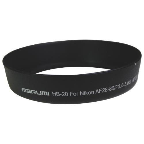 Marumi Nikon AF 28-80 / 3.5-5.6G & AF 28-100G Lens Hood (HB-20)