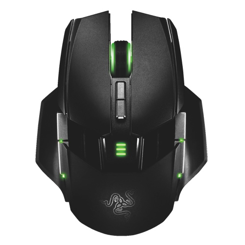 Razer Ouroboros Elite Wireless Laser Mouse - Black