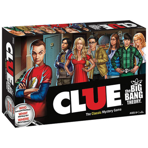 USAopoly Big Bang Theory CLUE Board Game