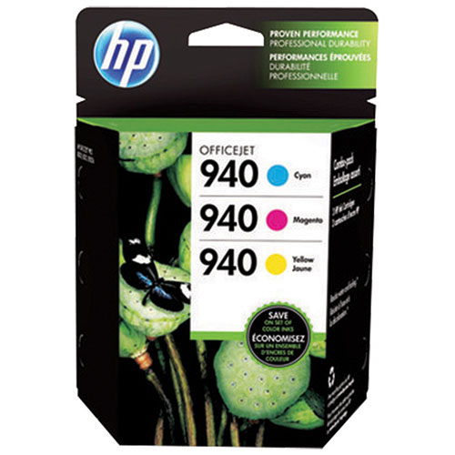 HP 940 Colour Ink (CN065FN) - 3 Pack
