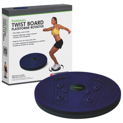 Balance Board Exercises Benefits: PurAthletics Twist Board (WTE10114)
