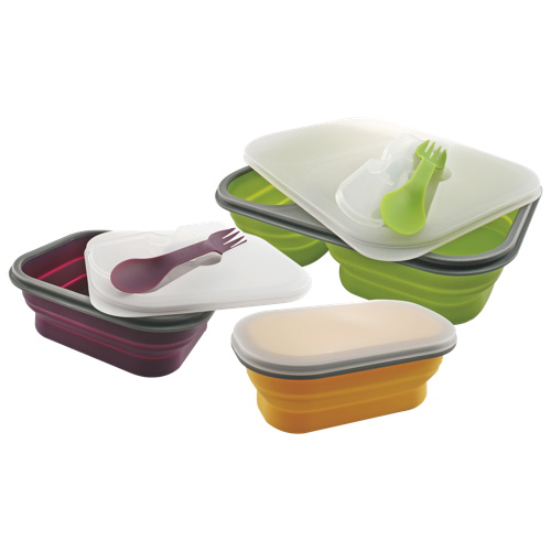 Swissmar Pop'n'Go Meal Set (07210/3) - Kiwi / Plum / Banana