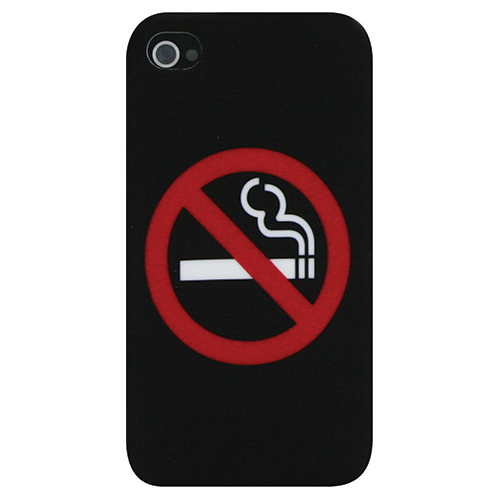 Exian iPhone 4/4s Hard Shell Case (4G044SP) - Black