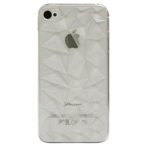 Étui rigide d'Exian pour iPhone 4/4s (4G135SP) - Transparent