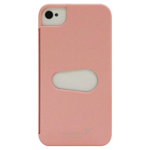Étui rigide d'Exian pour iPhone 4/4s (4G136SP) - Rose