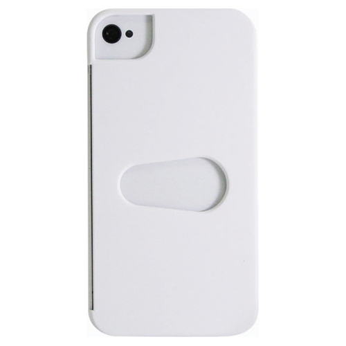 Exian iPhone 4/4s Hard Shell Case (4G136SP) - White