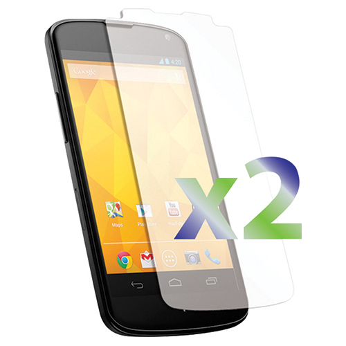 Exian Nexus 4 Screen Protector - 2 Pack
