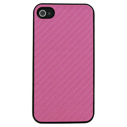 Exian iPhone 4/4s Hard Shell Case (4G007SP) - Pink