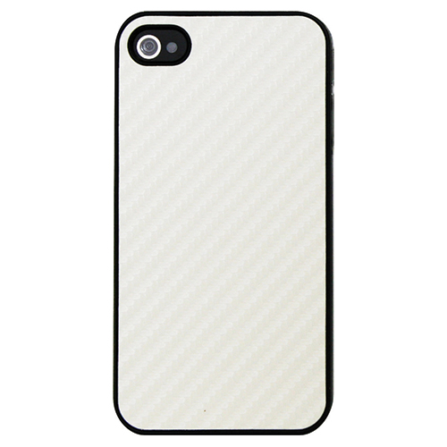 Exian iPhone 4/4s Hard Shell Case (4G007SP) - White