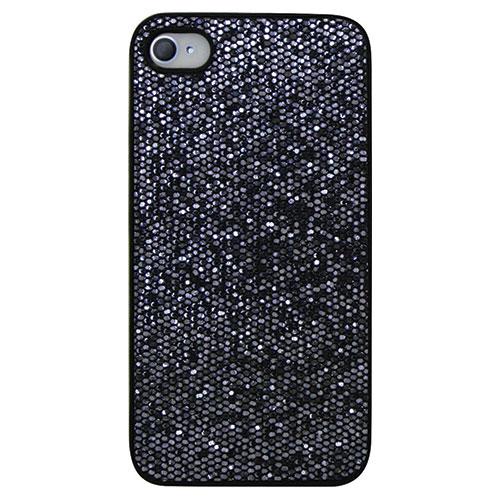 Étui-coque rigide d'Exian pour iPhone 4/4S (4G010SP) - Violet
