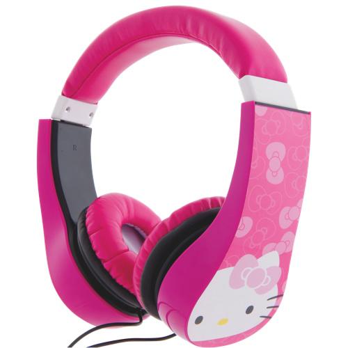 Écouteurs pour enfants Kid Safe Hello Kitty - Rose