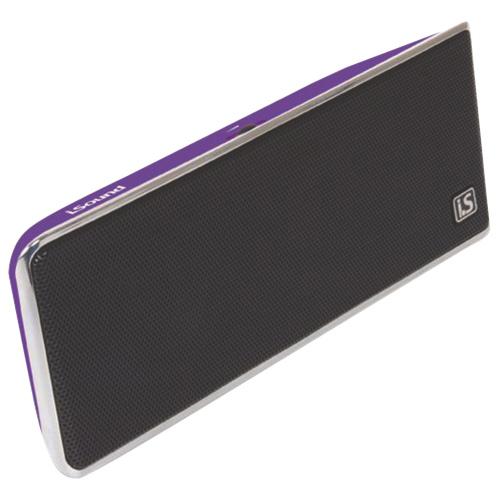 Haut-parleur portatif iSound GoSonic de dreamGEAR - Violet