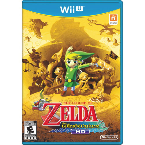 The Legend of Zelda: Windwaker HD (Wii U) - Previously Played