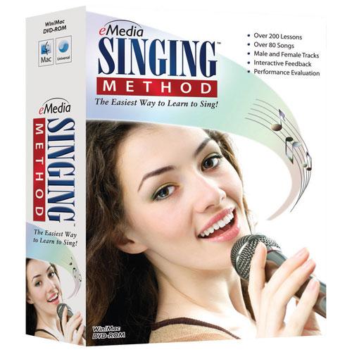 eMedia Singing Method (PC/Mac) - Bilingual