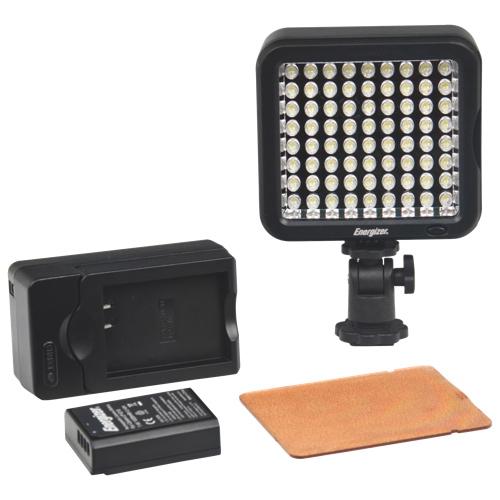 Lampe vidéo Digital Pro à 72 ampoules à DEL d'Energizer (ENL-25K)