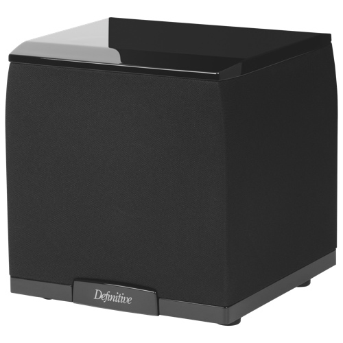 "Definitive Technology SuperCube 2000 7.5"" 650-Watt Subwoofer - Piano Black"